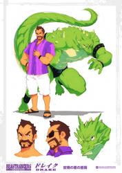 Beast Rancer Drake by javidavie