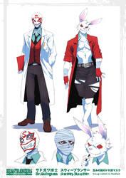Beast Rancer Dr. Sadogawa by javidavie
