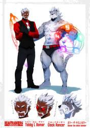 Beast Rancer Tobby L. Bomar by javidavie