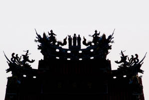 Photographic Abstraction: Daoist Temple