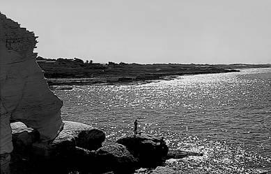 Rosh Hanikra Coastline by AlixLeedotcom