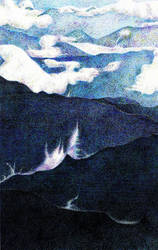 Blue Mountains by AlixLeedotcom
