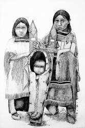 Kiowa Children by AlixLeedotcom