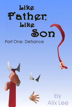 Book Cover Design 04: Like Father, Like Son?