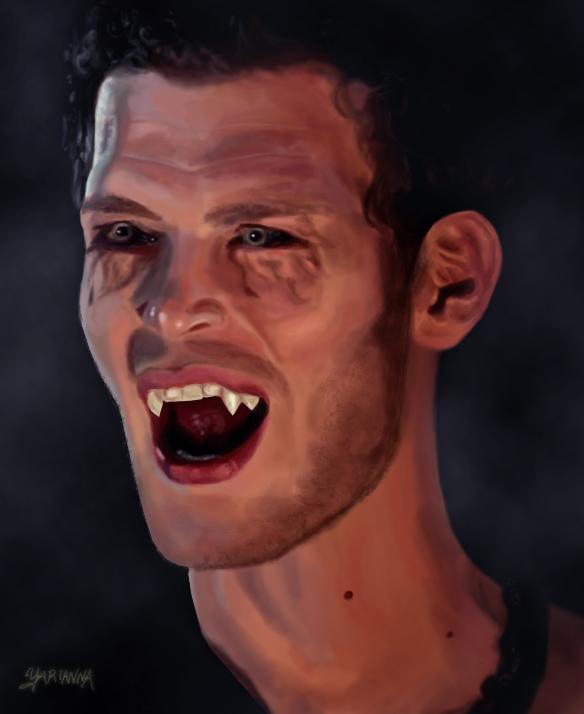 Vampire Diaries Werewolf Face Klaus: An Original by ...