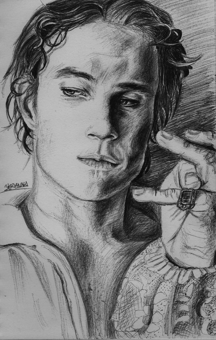 Heath Ledger by yarianna
