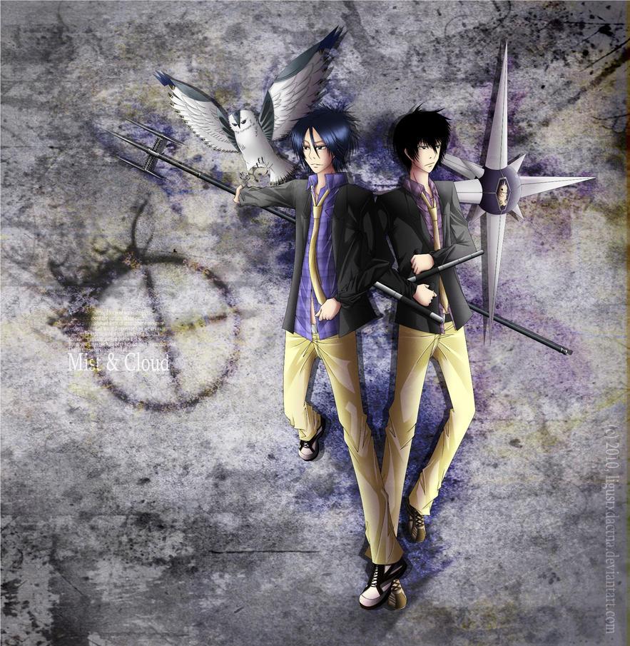 6918: Kiri and Kumo by LigustxDactna