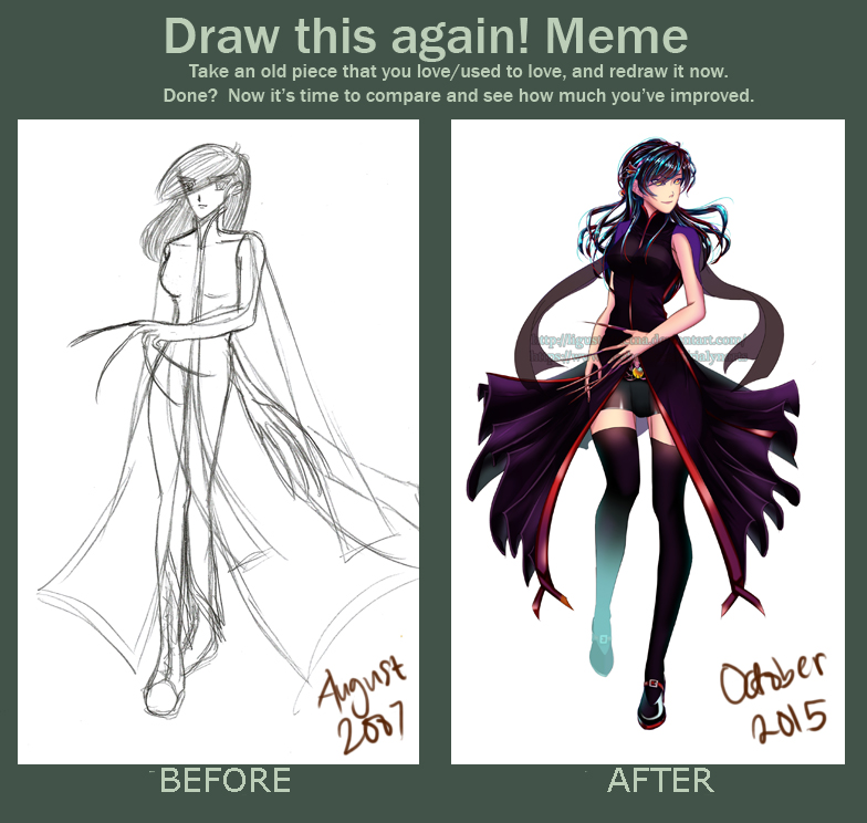 draw this again meme template - contest draw this again meme by rialynkv on deviantart