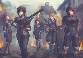 The Soldier's Battleground #02 by rialynkv