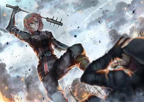 The Soldier's Battleground #05 by rialynkv