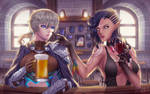 At the Bar by rialynkv