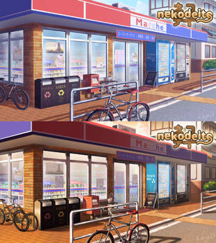 Convenience Store by rialynkv