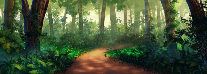 Forest by rialynkv