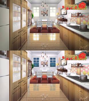 Kitchen by rialynkv