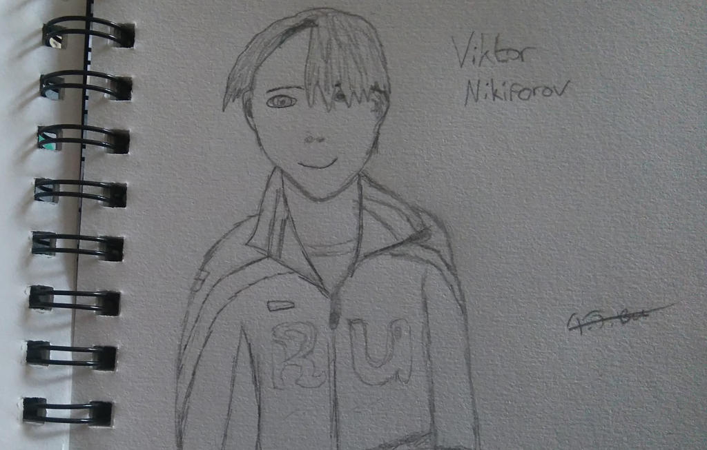 Sketchbook: Viktor Nikiforov by Tara-Jayne1994