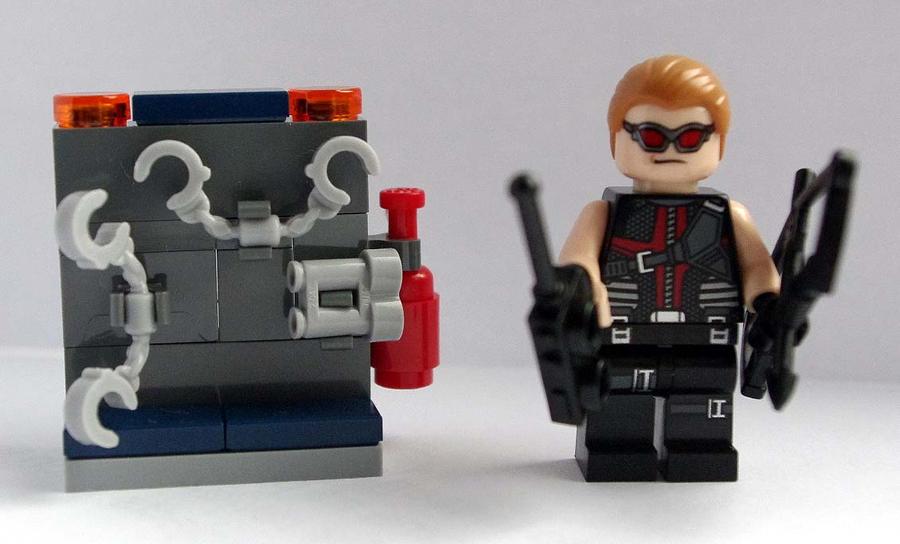 Lego Hawkeye by SpiritAlpha on DeviantArt