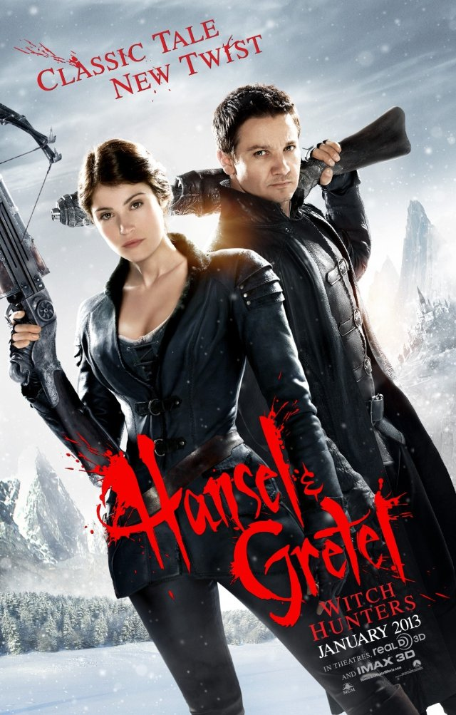 Hansel and Gretel Witch Hunters poster by SpiritAlpha