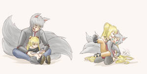 Universos paralelos Balaika y Takashi