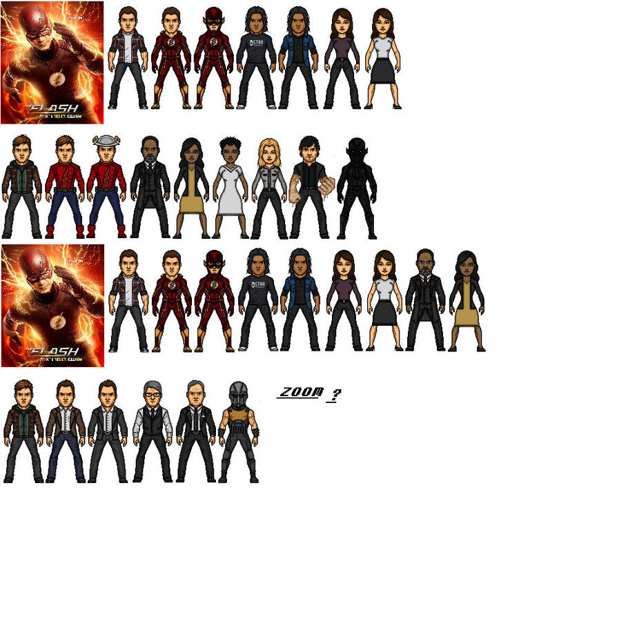 The Flash Se 2 Ep 1 And 2 by greatgamer4