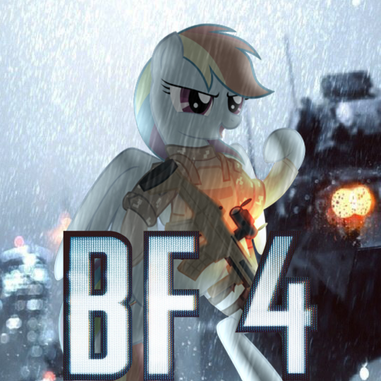 [MLP Icon] Battlefield 4 by pavelgun93
