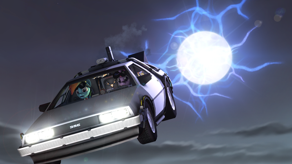 [MLP] Back To The Future By Pavelgun93 On DeviantArt