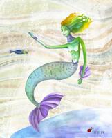 bajo el mar by bomboncito