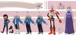 [Undertale] Characters part 01