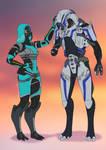 Mass Effect - Headpats