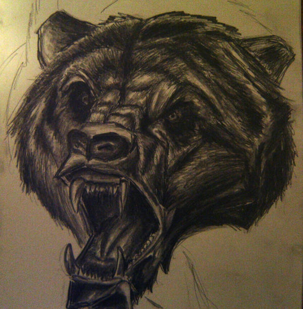 Scary Bear by artactivist on DeviantArt