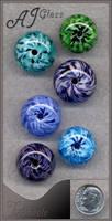 Pinwheels by AJGlass