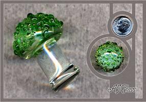 Glass Mushroom by AJGlass