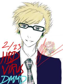 Happy Birthday Virus! by Shiroyama Kuon