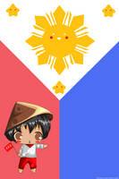 Chibi Philippines-tan by bellatriz