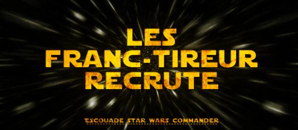 Bannire Franc Tireur Star War C by standard2