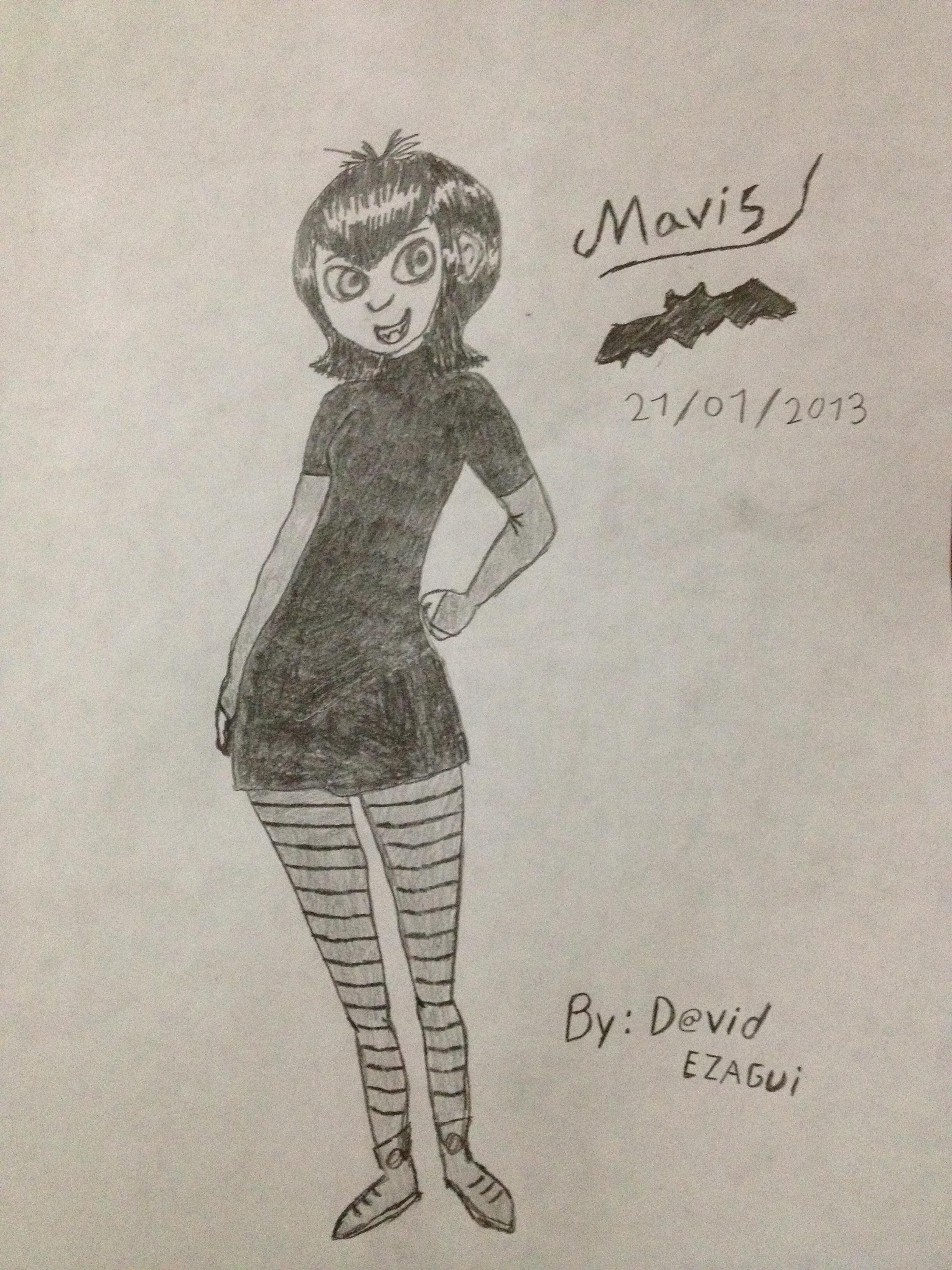 Mavis dracula - my drawing :3 by ezagui123
