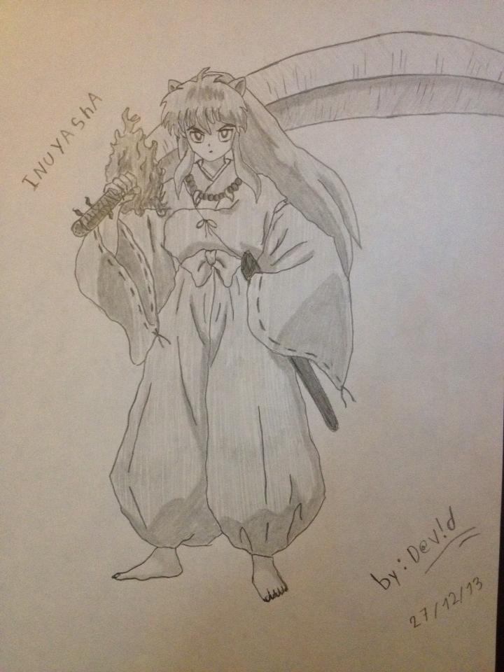 Inuyasha Dibujo A Lapiz By Ezagui123 On Deviantart