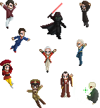 10 Lords A-Leaping by PoppedArtDolls