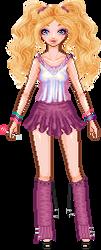 TLC Chain Link Doll #1 by PoppedArtDolls
