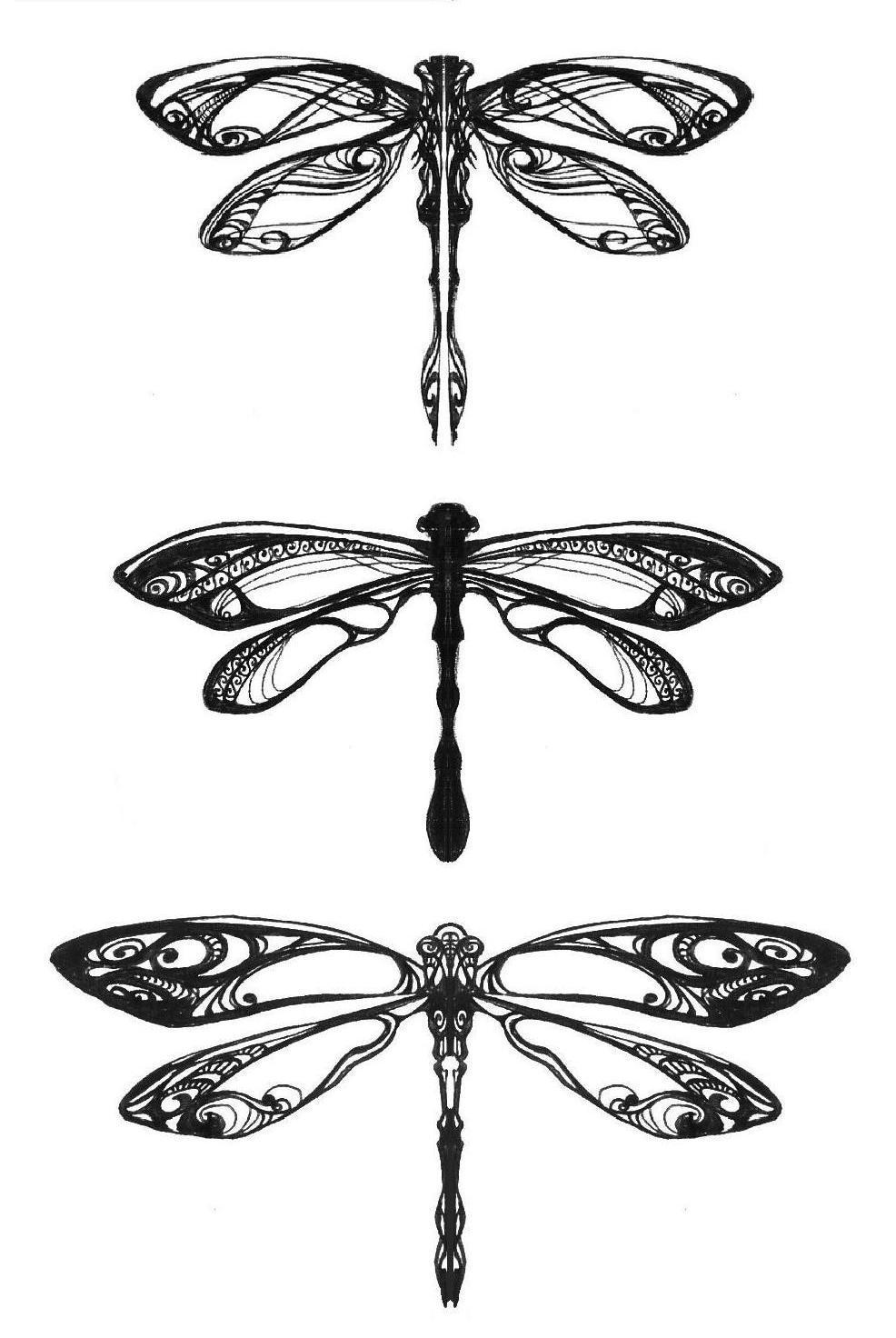 Dragonflies by Pangea-Derlatek