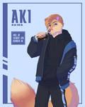 Aki by Kefirchik7