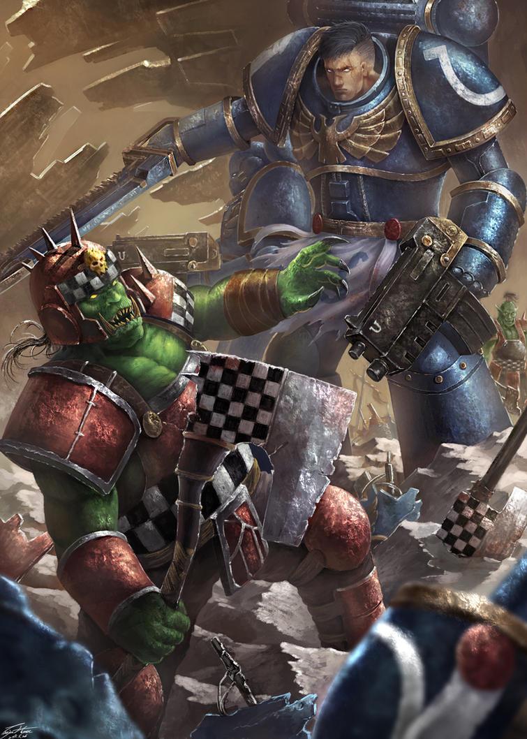 Warhammer 40K by trojanHorse0706