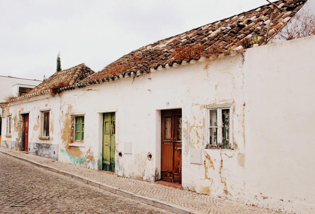 street in Tavira, Portugal by Shreever