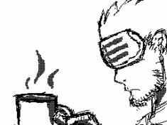 Godot and his Coffee -Flipnote Animation- by Django90