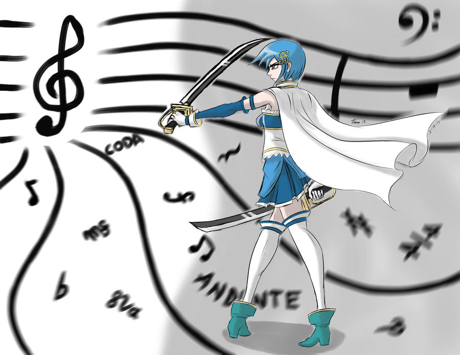 Sayaka Miki -Path of the Puella Magi- by Django90