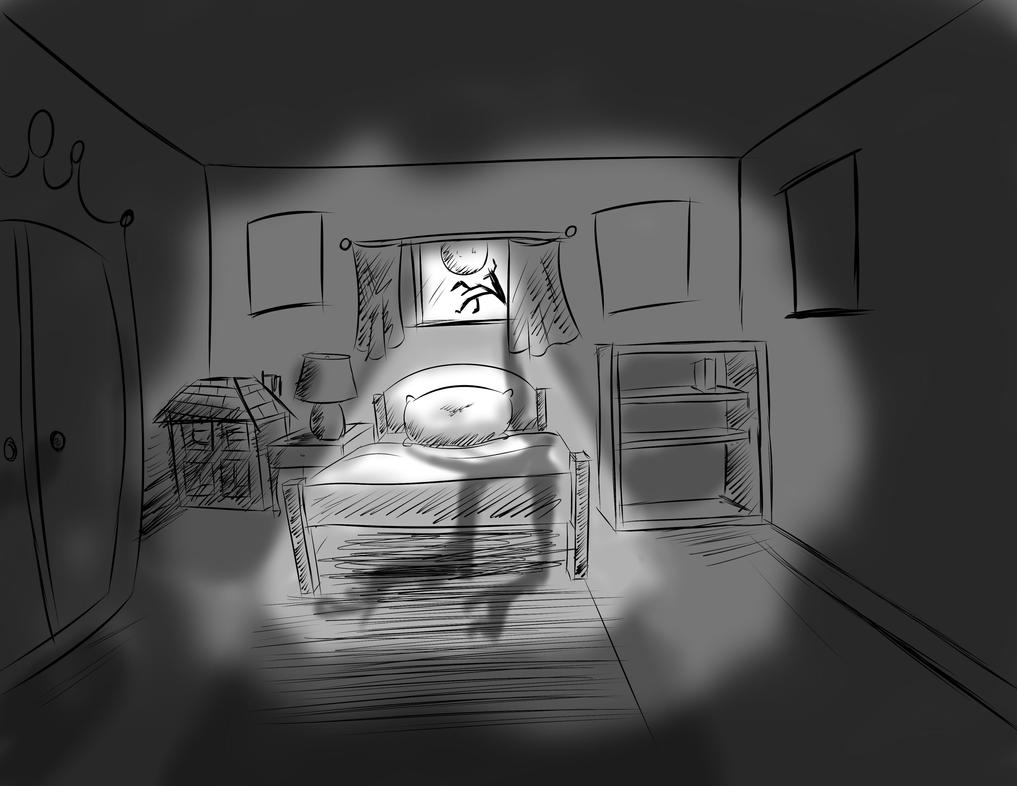 Stacey's Room Layout (Childhood) by Django90