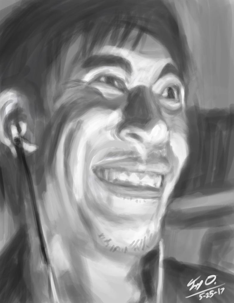 Self Portrait Practice by Django90