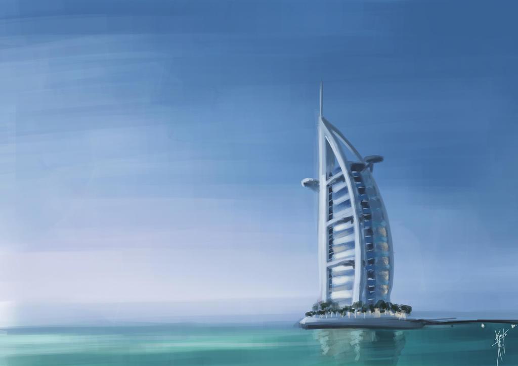 Burj Al Arab By Danielkendi On Deviantart