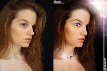 Luxurious Brin Kennedy before after