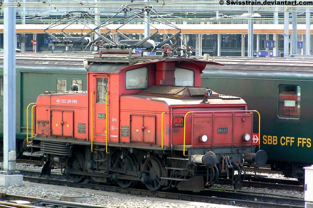 SBB Ee 3-3 16425 by SwissTrain