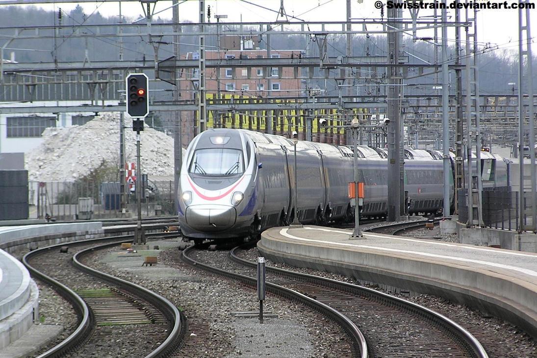 SBB ETR 610 010 by SwissTrain
